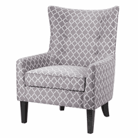 Davenport Wing Chair - Fretwork