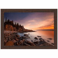 Daybreak Framed Canvas