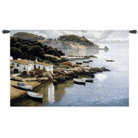 Daybreak On Coast Wall Tapestry