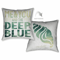 Deep Blue Pillow