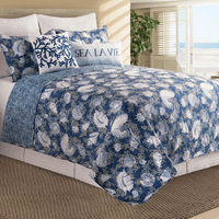 Deep Blue Sea Quilt Bedding Collection