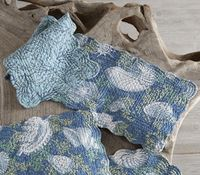 Deep Blue Sea Table Runner