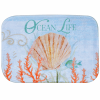 Deep Sea Ocean Life Bath Mat - CLEARANCE