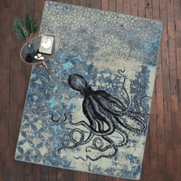 Deep Sea Octopus Rug Collection