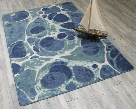 Deep Sea Rug - 8 Ft. Round