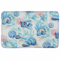 Deep Sea Shells Comfort Mat - CLEARANCE