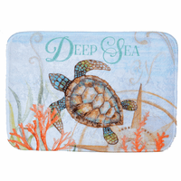Deep Sea Turtle Bath Mat - CLEARANCE