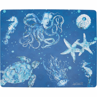 Deep Underwater Hardboard Placemats - Set of 6