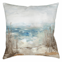 Distant Waves Pillow