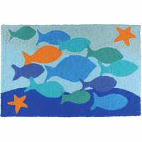 Distinguished Fish Indoor/Outdoor Rug