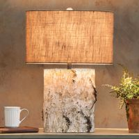 Birch Wood Table Lamp