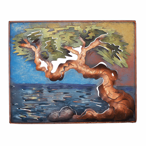 Divi Tree Frame Metal Wall Art