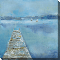Dock View Outdoor Canvas Art