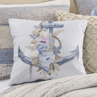 Dockside Morning Anchor Pillow