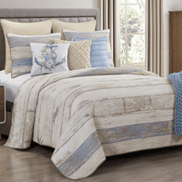 Dockside Morning Quilt Set - Twin