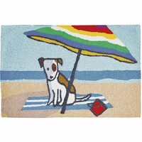 Dog Days of Summer Indoor/Outdoor Rug