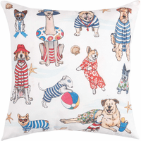 Doggy Holiday Pillow