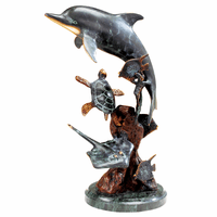 Dolphin Utopia Sculpture