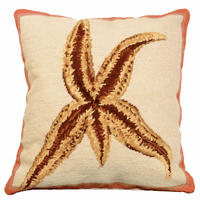 Dominican Starfish Pillow
