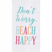 Don't Worry Flour Sack Towels - Set of 6