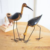 Dorian Shore Bird Statuaries - Set of 2