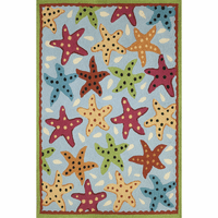 Dotted Starfish Indoor/Outdoor Rug Collection