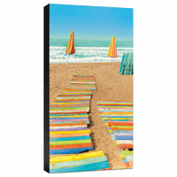 Double Walk Gallery Wrapped Canvas