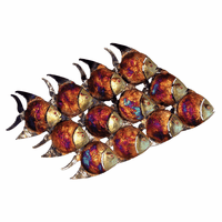 Dozen Copper Dripped Fish