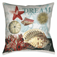 Dream Sea Life 20 x 20 Outdoor Pillow