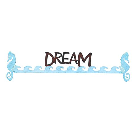 Dream - Seahorse Wall Art - CLEARANCE
