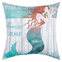 Dreaming Mermaid HD Indoor/Outdoor Pillow