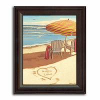 Dreamland Beach Personalized Print�