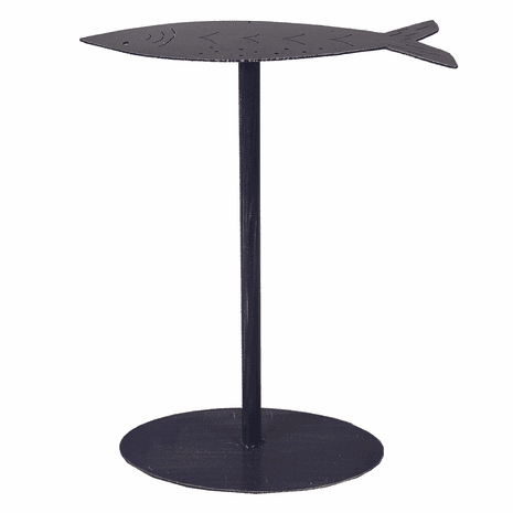 Drink Table with Fish Top