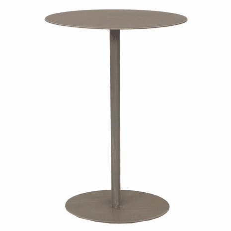 Drink Table with Oval Top