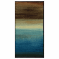 Dusk Horizon II Framed Canvas
