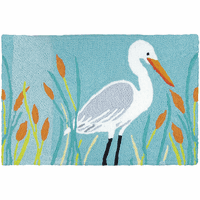 Edgar Egret Indoor/Outdoor Rug