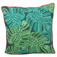 Electric Leaves Indoor/Outdoor Pillow
