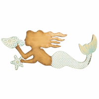 Enchanted Mermaid Wall Décor - OVERSTOCK