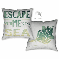Escape Words Pillow