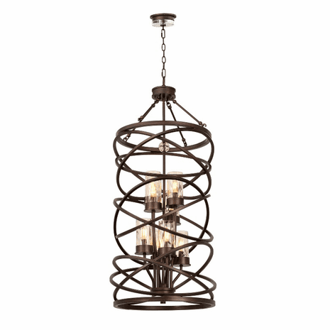 Eternity 8 Light Foyer Pendant