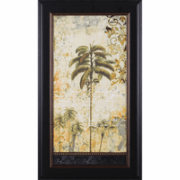 Exotic Regions I Framed Print