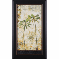 Exotic Regions II Framed Print