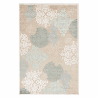 Fables Wistful Cream Rug - 6 x 6