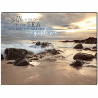 Far Side of the Sea Wrapped Canvas Art