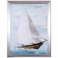 Fast Sailboat II Framed Art