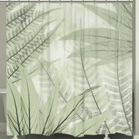 Fern Gully Shower Curtain