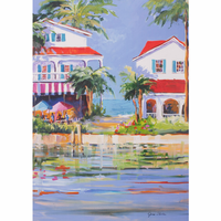 Festive Coast II Canvas Art