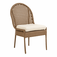Fiji Dining Side Chair - Driftwood Weave