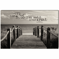 Find Rest Wrapped Canvas Art