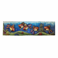 Fish Box Frame Metal Wall Art
